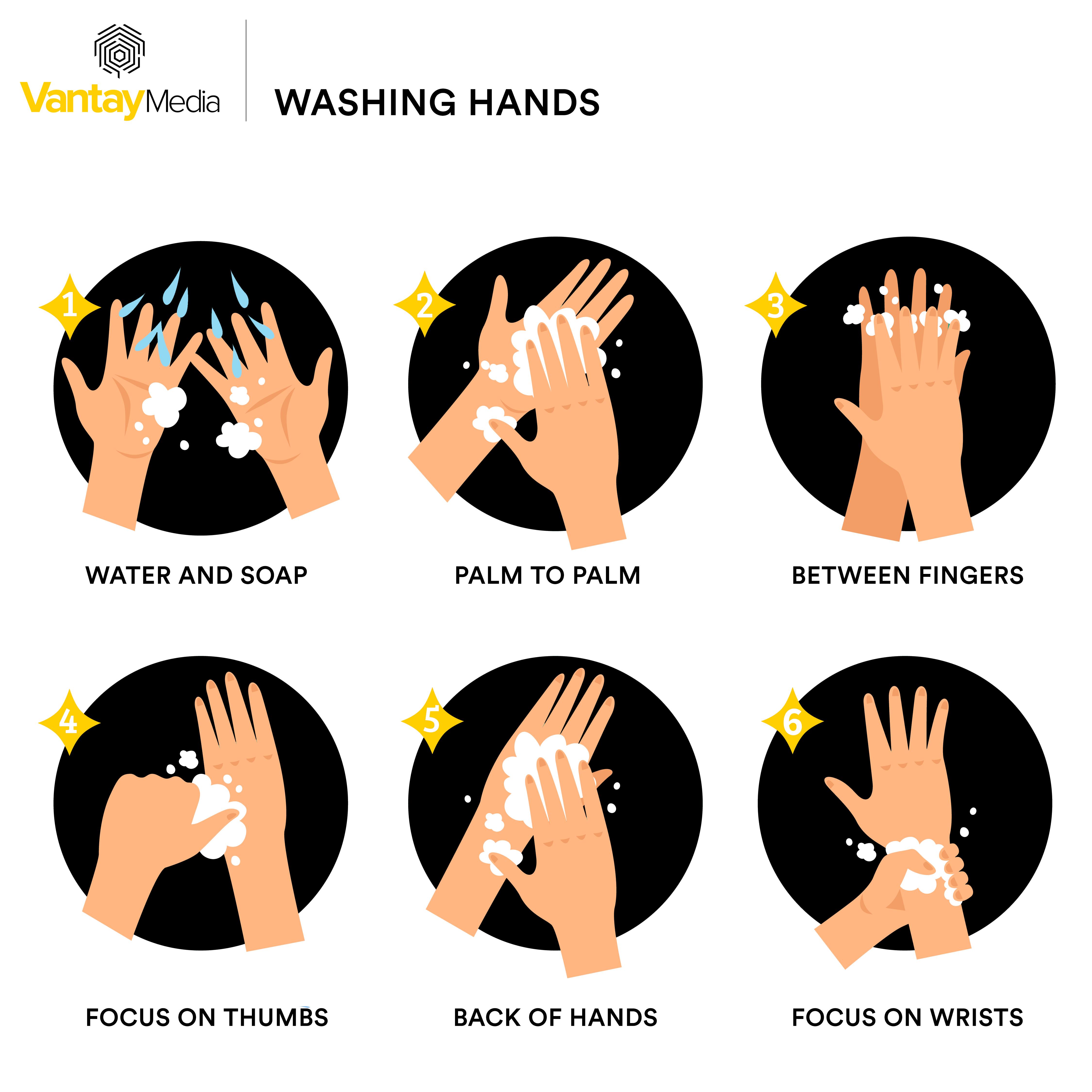 Rửa tay thường xuyên